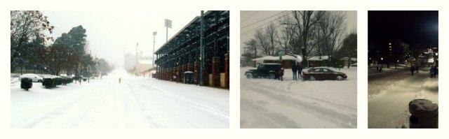 Fayetteville Roads Winter 2013
