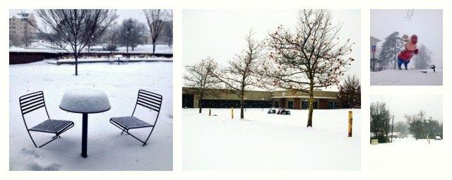 Fayetteville Winter  December 2013