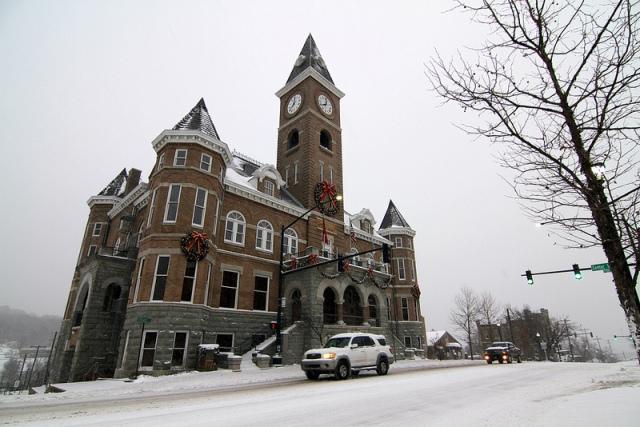 Winter in Fayetteville 2013